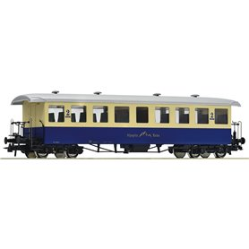Roco 74507 Personvagn 2:a klasscogwheel passenger coach of the Alpspitz-Bahn