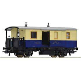 Roco 74508 Cogwheel baggage coach of the Alpspitz Bahn
