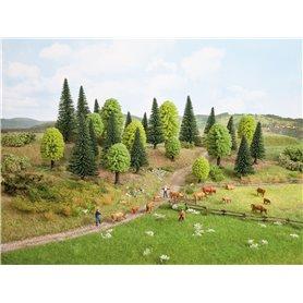 Noch 32911 Mixad skog, 10 st, 3,5 - 9 cm höga