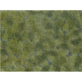 Noch 07250 Groundcover Foliage, mid green, 12 x 18 cm