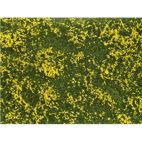Noch 07255 Groundcover Foliage Meadow yellow, 12 x 18 cm