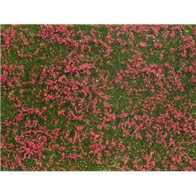 Noch 07257 Groundcover Foliage Meadow red, 12 x 18 cm