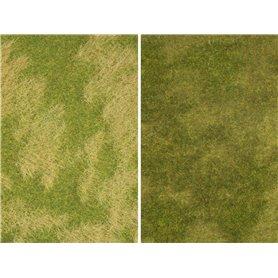 "Noch 07472 Minigräsmatta, ""Natural Meadow"", 25 x 25 cm, 2 st"