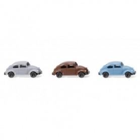 Wiking 90002 Three VW Beetles