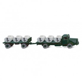 Wiking 85602 Auxiliary tanker (Büssing 8000) 'Bolle'