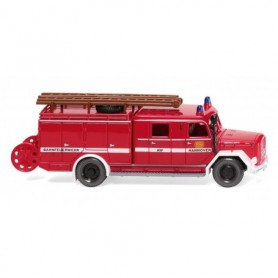 Wiking 86363 Fire brigade - LF 16 (Magirus) 'Bahnfeuerwehr Hannover'