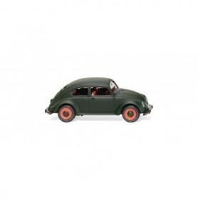 Wiking 83018 VW 'Pretzel' Beetle - dark matte green