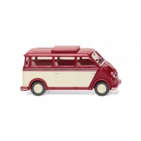 Wiking 33405 DKW speedvan bus - ruby red ivory