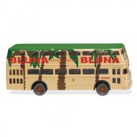 Wiking 72205 Double-decker bus D2U (Büssing) 'Bluna'