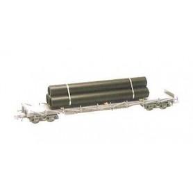 Heico 16043 Vagnslast med pipelinerör, för flakvagnar, längd 75 mm