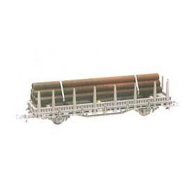 Heico 16041 Vagnlast med stålrör, för stolpvagn