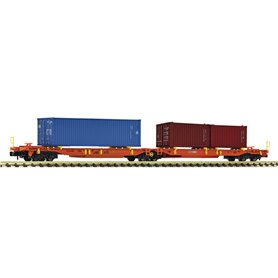 Fleischmann 825013 Articulated double pocket wagon, Wascosa