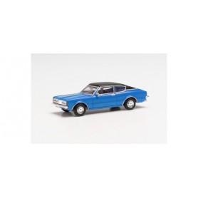 Herpa 023399-002 Ford Taunus 1600 Coupé (Knudsen), sky blue