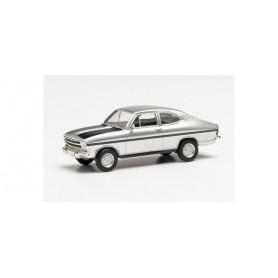 Herpa 034913-002 Opel Kadett B F-Coupé Rallye, silver metallic