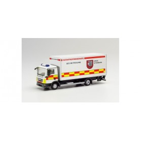 """Herpa 096560 MAN TGL box truck with tail lift """"Disaster control Stormarn district"""""""