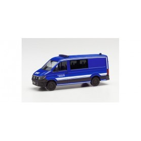 """Herpa 096577 VW Crafter flat roof half bus """"THW"""""""