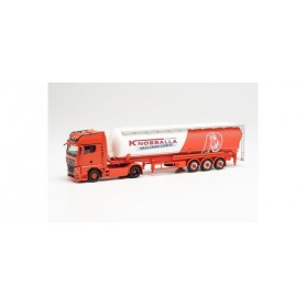 "Herpa 314268 MAN TGX GX individual with bulk semitrailer ""Knossalla"" (North Rhine-Westphalia Recklinghausen)"