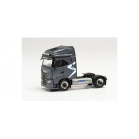 """Herpa 314282 Iveco S-Way LNG tractor """"DRIVE THE NEW WAY"""""""