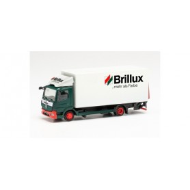 """Herpa 314336 Mercedes-Benz Atego '13 box truck with tail lift """"Brillux"""""""