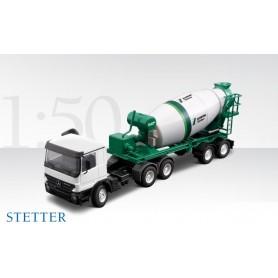 """Conrad 401620 MB Actros 2-axlig med betongblandare """"Stetter"""""""