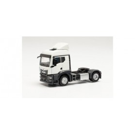 Herpa 314596 MAN TGS TM tractor without wind deflectors, white