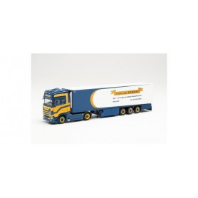 "Herpa 314619 Scania CS 20 HD refrigerated box semitrailer truck ""Gebr. van Iterson"" (Netherlands|Meteren)"