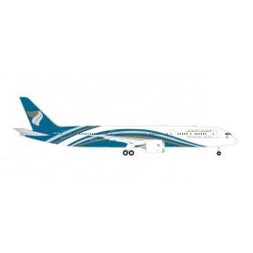 Herpa Wings 535823 Flygplan Oman Air Boeing 787-9 Dreamliner – A4O-SF