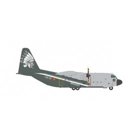 """Herpa Wings 571791 Flygplan Belgian Air Component Lockheed C-130H Hercules - 20 Squadron, 15 Wing, Melsbroek Air Base """"50 Yea..."""