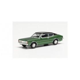 Herpa 033398-002 Ford Taunus 1600 Coupé (Knudsen), dark green met