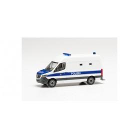 """Herpa 096492 Mercedes-Benz Sprinter '18 box van """"Gefangenentransporter Polizei Berlin"""""""