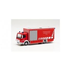 """Herpa 096553 Mercedes-Benz Atego box truck """"Feuerwehr Essen Wasserrettung"""""""