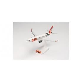 Herpa Wings 613514 Flygplan GOL Transportes Aéreos Boeing 737 Max 8 – PR-XMB