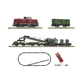 Fleischmann 931899 z21 start digital set: Diesel locomotive class 212 and construction/maintenance train, DB