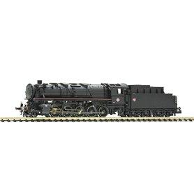 Fleischmann 714407 Ånglok med tender klass 150 X SNCF