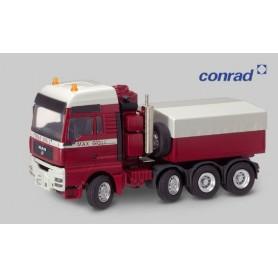 Conrad 660020 Tungdragbil MAN TG-A XXL, 4-axlig med kapell