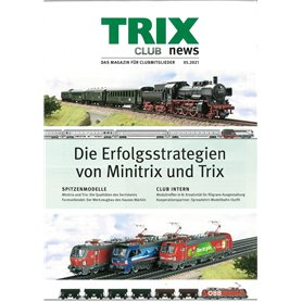 Trix CLUB052021T Trix Club 05/2021, magasin från Trix, 23 sidor i färg, Tyska