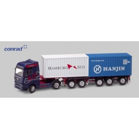 """Conrad 66134 MAN TG-A med containertrailer """"NOOTEBOOM"""""""