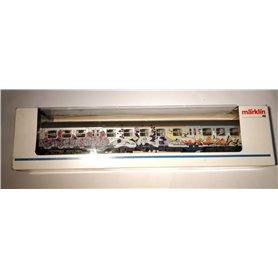 """Märklin 84255 Personvagn 2:a klass """"Graffiti-Edition"""""""