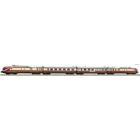 Fleischmann 741005 4 piece set: Diesel multiple unit class 601, DB