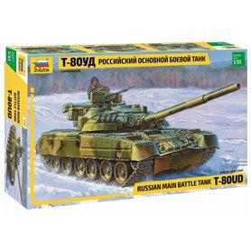 Zvezda 3591 Tanks Russian main battle tank T-80UD