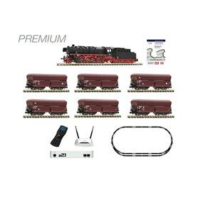 Fleischmann 931898 FLEISCHMANN Premium - z21 digital set: Steam locomotive class 044 and ore train, DB