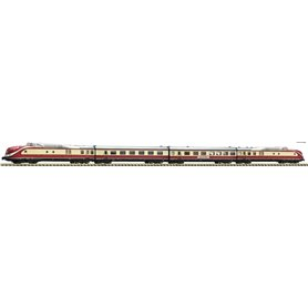 Fleischmann 741085 4 piece set: Diesel multiple unit class 601, DB med ljudmodul