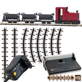 Busch 12010 Narrow Gauge Railroad Starter Set
