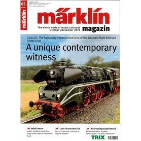 Märklin 360378 Märklin Magazin 5/2021 Engelska