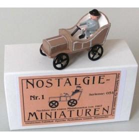 """Epoche 00007.1 Nostalgieminiaturen Nr.1 """"Nachbau des ersten Miniaturautos von 1907"""""""