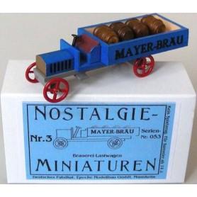 """Epoche 00007.3 Nostalgieminiaturen Nr.3 Bryggarbil med last """"Mayer-Bräu"""""""