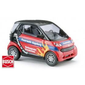 """Busch 48994 Smart Fortwo """"Feuerwehr Augsburg"""""""