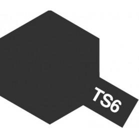 """Tamiya 85006 Sprayfärg TS-6 """"Matt Black"""" matt, innehåller 100 ml"""