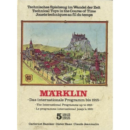 "Märklin band5 BAND 5, Märklin ""1912-1915"" -The International Programme up to 1915-"