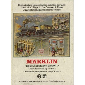 "Märklin band6 BAND 6, Märklin ""1919-1921"" -New Horizons, up to 1921-"